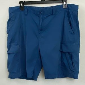 Men's George Blue Cargo Shorts Size 42 R-12
